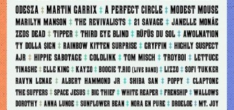 2018 Voodoo Fest Lineup Revealed:  Arctic Monkeys, Mumford & Sons, A Perfect Circle, Childish Gambino, Modest Mouse