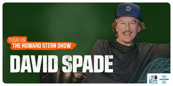 David Spade on The Howard Stern Show 2018 - Listen