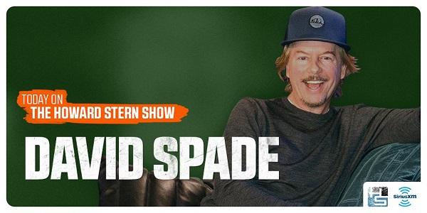 David Spade on The Howard Stern Show 2018 - Listen