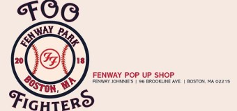 Foo Fighters Pop Up Store @ Fenway Johnnie's in Boston, MA – Directions/Times/Dates/Schedule