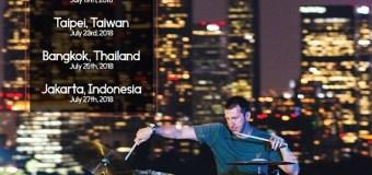 Drummer Mike Johnston To Headline Gretsch 135th Anniversary Clinic Tour – Asia, China, Taiwan, Thailand, Indonesia, NAMM