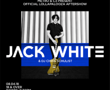 Jack White Lollapalooza Aftershow Announced at Metro Chicago – Tickets