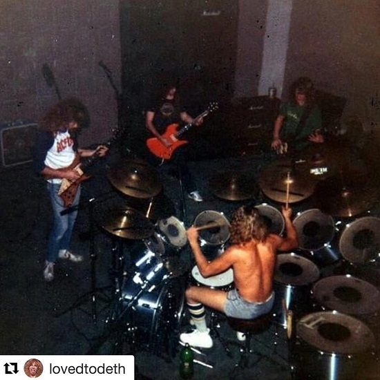 Megadeth w/ Kerry King of Slayer @ Rehearsal in Los Angeles