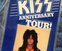Mötley Crüe/KISS Tour 1982 All Access Pass – Nikki Sixx Storage Gems