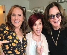 Ozzy Osbourne on The Talk 2018 w/ Molly Shannon – Sharon Osbourne