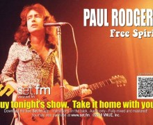 Paul Rodgers to Sell Live Recordings from 2018 Stars Align Tour – Free Spirit