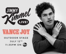 Vance Joy on Jimmy Kimmel Live 2018