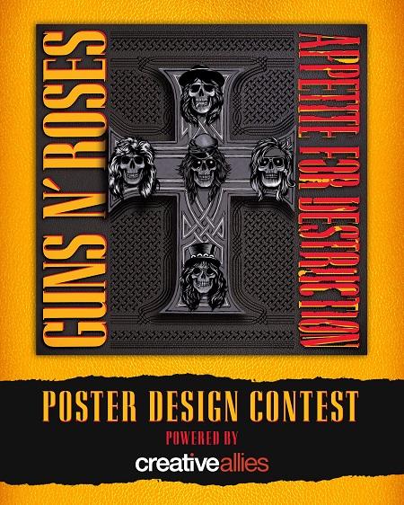 Guns N' Roses Poster Design Contest/Opportunity + Box Set