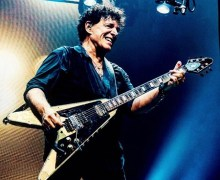 Neal Schon: IHush Custom Eye of Angel Guitar by Naoki Ihashi