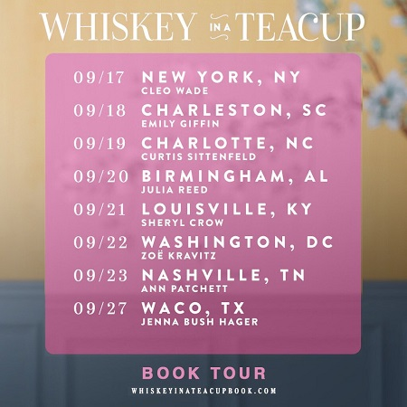 Reese Witherspoon 2018 Book Tour Dates Announced - 'Whiskey in a Teacup'