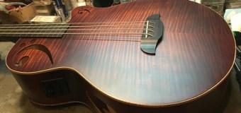 Rudy Sarzo Designed Acoustic Bass – Sawtooth Guitars – Fishman Preamp