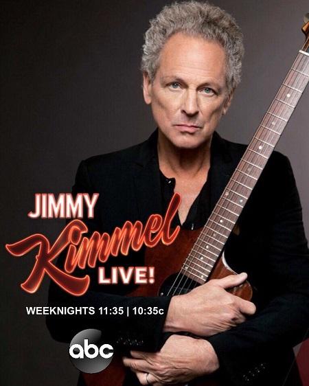 Lindsey Buckingham on Jimmy Kimmel Live 2018 - New Album/Song