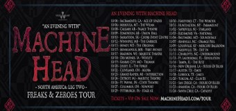 Machine Head Farewell Tour 2018 – Dates/Tickets