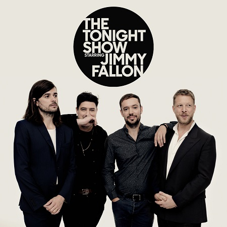 "Mumford & Sons on Jimmy Fallon - The Tonight Show 2018 - New Album/Song ""Guiding Light"""