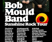 Bob Mould New 2019 Album + Tour Announced