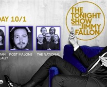 The National on Jimmy Fallon – The Tonight Show 2018
