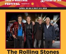 Rolling Stones 2019 New Orleans Jazz & Heritage Festival Show Announced – Tickets