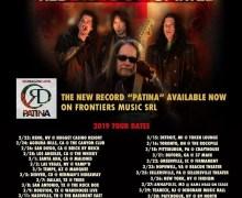 Jake E. Lee's Red Dragon Cartel 2019 Tour Dates/Tickets, Denver, Houston, Nashville, Detroit, New York