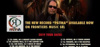 Jake E. Lee's Red Dragon Cartel 2019 Tour Dates/Tickets, Denver, Houston, Nashville, Detroit, New York