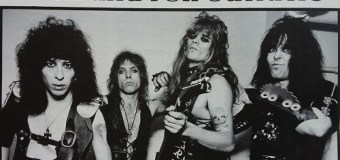 """Tony Richards on Early W.A.S.P. Shows (1983) in L.A., """"There Was No Stopping Us.  We Were Insane."""""""