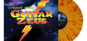 """Carmine Appice, """"The Guitar Zeus Test Pressing Has Been APPROVED!"""" – Vinyl/LP/CD – Signed"""