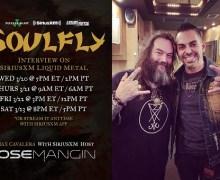 Soulfly: Max Cavalera w/ Jose Mangin on SXMLiquidMetal – SiriusXM