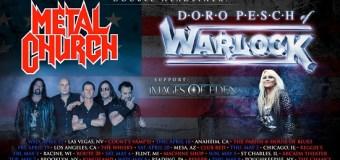 Metal Church & Doro Pesch 2019 Tour Announced – Los Angeles, Anaheim, Las Vegas, Brooklyn, Mesa