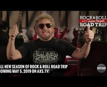 Sammy Hagar Rock & Roll Road Trip 2019 w/ Trailer – New Season 4