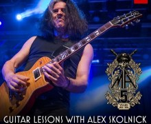 Testament's Alex Skolnick Guitar Lesson – Phoenix, Los Angeles, San Francisco, Las Vegas
