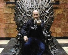 """Scott Ian, """"On My Way To NYC For The Game Of Thrones Season 8 Premiere"""""""