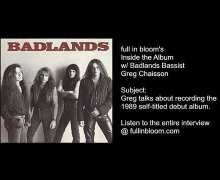 Recording the Badlands 1989 Self-Titled Album w/ Greg Chaisson – Details – Budget – Studios