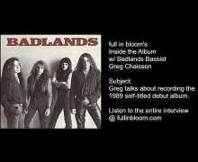Recording the Badlands 1989 Self-Titled Album w/ Greg Chaisson – Details – Budget – Studios