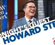 Howard Stern on Stephen Colbert – The Late Show 2019