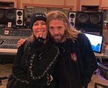 Lita Ford in the Studio w/ Taylor Hawkins 2019 – New Album