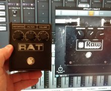 UA Plugin: Pro Co RAT Distortion Pedal – Raw Distortion –  by Universal Audio – UAD