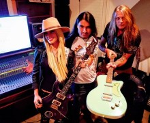 "Sebastian Bach, ""Orianthi's Guitar Playing is on the Level of Eddie Van Halen, Tony Iommi, Billy Gibbons, Carlos Santana"" New Album Update 2019"