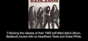 The Tesla / Great White / Badlands Tour 1989 via Greg Chaisson – full in bloom Interview Excerpt