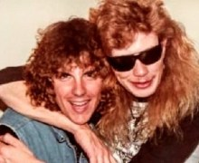 "Ex-Metallica's Ron McGovney, ""Hopefully , I can give Dave Mustaine a hug like this very soon"""