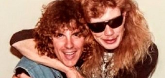 """Ex-Metallica's Ron McGovney, """"Hopefully , I can give Dave Mustaine a hug like this very soon"""""""