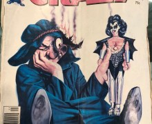 "Gene Simmons, ""CRAZY Magazine. 1980."" – KISS"
