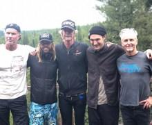Chad Smith, Duff McKagan, Taylor Hawkins, Mike McCready, Josh Klinghoffer @ Peak to Sky