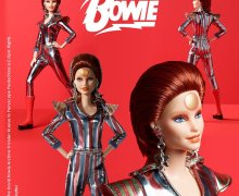David Bowie Barbie – Post-Ziggy Stardust – Aladdin Sane by Mattel