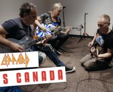 Watch Def Leppard Vlog From Montréal, Canada