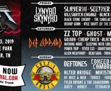 Exit 111 Festival Schedule Is Out Now – Tickets – Anthrax, Guns N' Roses, Slayer, Ghost, Deftones, Def Leppard