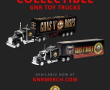 Guns N' Roses:  New Collectible GNR Trucks