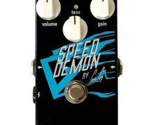 Gus G 'Speed Demon' Guitar Pedal Introduced – Overdrive – Distortion – Crazy Tube Circuits