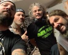 """Mike Portnoy, Bobby """"Blitz"""" Ellsworth, Phil Demmel, Mark Menghi – """"Working On Something Very Kewl"""""""