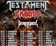 Testament, Exodus, Death Angel 2019 Tour/Dates/Tickets Announced