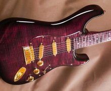 "Fender Strat ""Purple Reign"" – Custom Shop – Yuriy Shishkov"