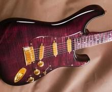 """Fender Strat """"Purple Reign"""" – Custom Shop – Yuriy Shishkov"""